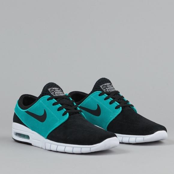 0d293d195c Nike Shoes | Sb Stefan Janoski Max Blkretrowht Size 105 | Poshmark